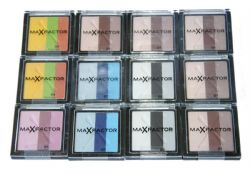 12 x Max Factor Max Effect Trio Eyeshadow | 5 Shades | RRP £72 | Wholesale